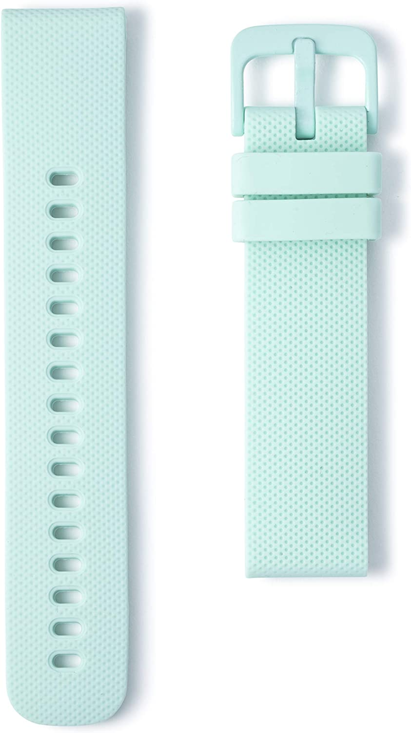 Compatible with Wristology Quick Release Easy Change Replacement Soft Silicone Rubber Watch Band Strap for Men Women - Choose Color and Width - 18mm, 20mm, 22mm