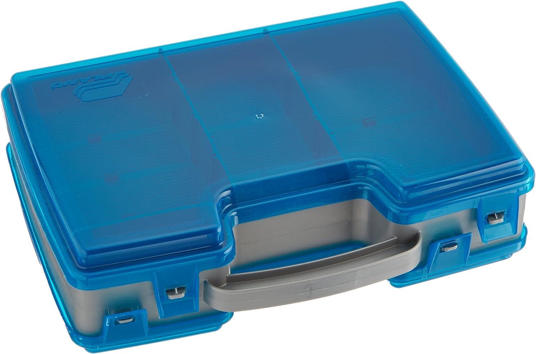 Plano Large 2 Sided Tackle Box, Metallic Gray & Blue, Medium: Sports & Outdoors