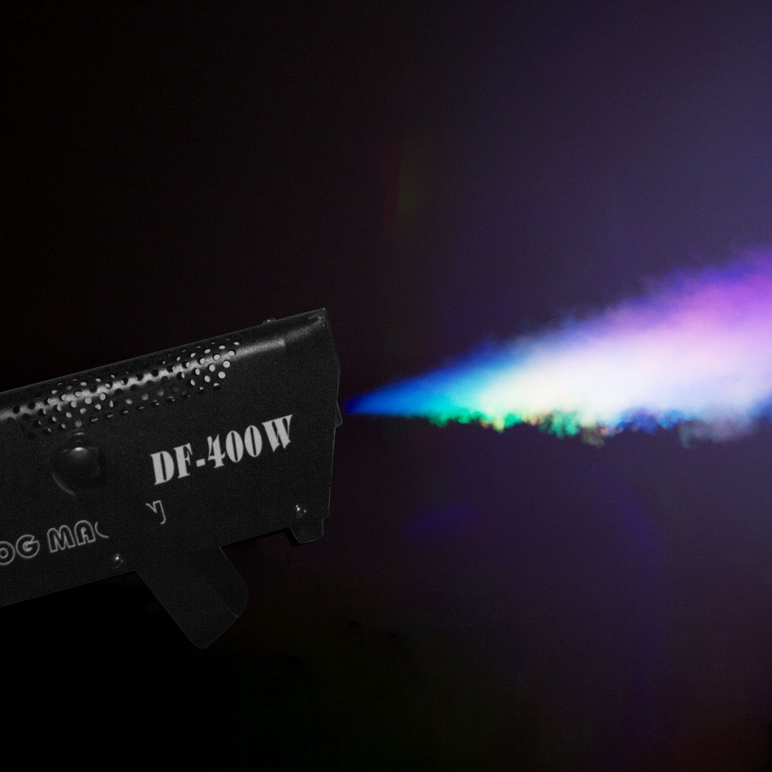 Fog Machine, Miric Smoke Machine Portable with LED Lights Equipped with Wired and Wireless Remote Control for Party, Christmas, Halloween and Weddings (400W) by Miric (Image #2)