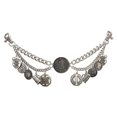 Neueste Kollektion Von Charivari Kette Trachten Anhänger Silber Herren Antiquitäten & Kunst Antikschmuck