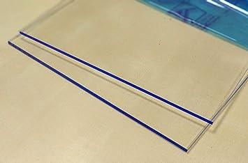 Hoja de plástico acrílico transparente 3mm - Tamaño A4 DINA4 (210 x 297 mm)- Metacrilato transparente varios tamaños - Plancha Metacrilato traslucido ...