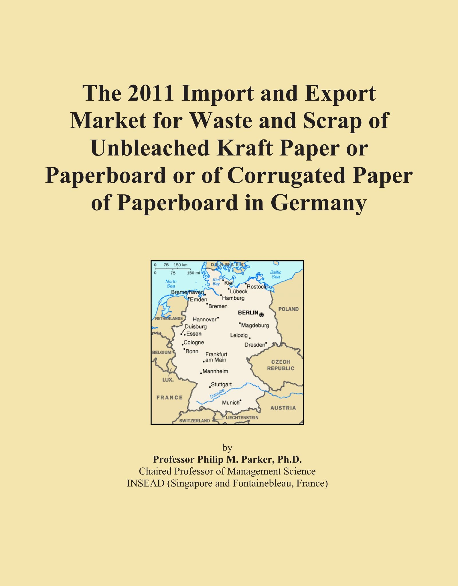 Download The 2011 Import and Export Market for Waste and Scrap of Unbleached Kraft Paper or Paperboard or of Corrugated Paper of Paperboard in Germany pdf