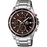 Casio Edifice Chronograph Brown Dial Men's Watch - EFR-526D-5AVUDF (EX094)