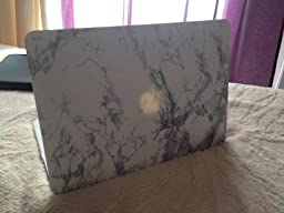 gmyle coque pour macbook air 13 marble blanc housse high tech. Black Bedroom Furniture Sets. Home Design Ideas