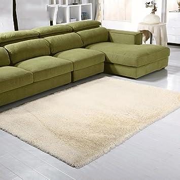Amazonde Ylmd Einfarbige Rechteckige Rutschfeste Teppich