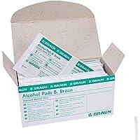 B Braun Alcohol Pads, 1er Pack, (1x 100 Stück)