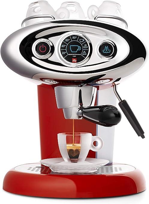Illy - 6604 Máquina de café Espresso en Cápsulas Iperespresso, X7.1, Color Rojo, 1 Litro: Amazon.es: Hogar