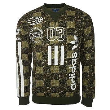 S18591 Crew SweaterCamouflageUnisex Originals Cheker Adidas dthQxrsBC