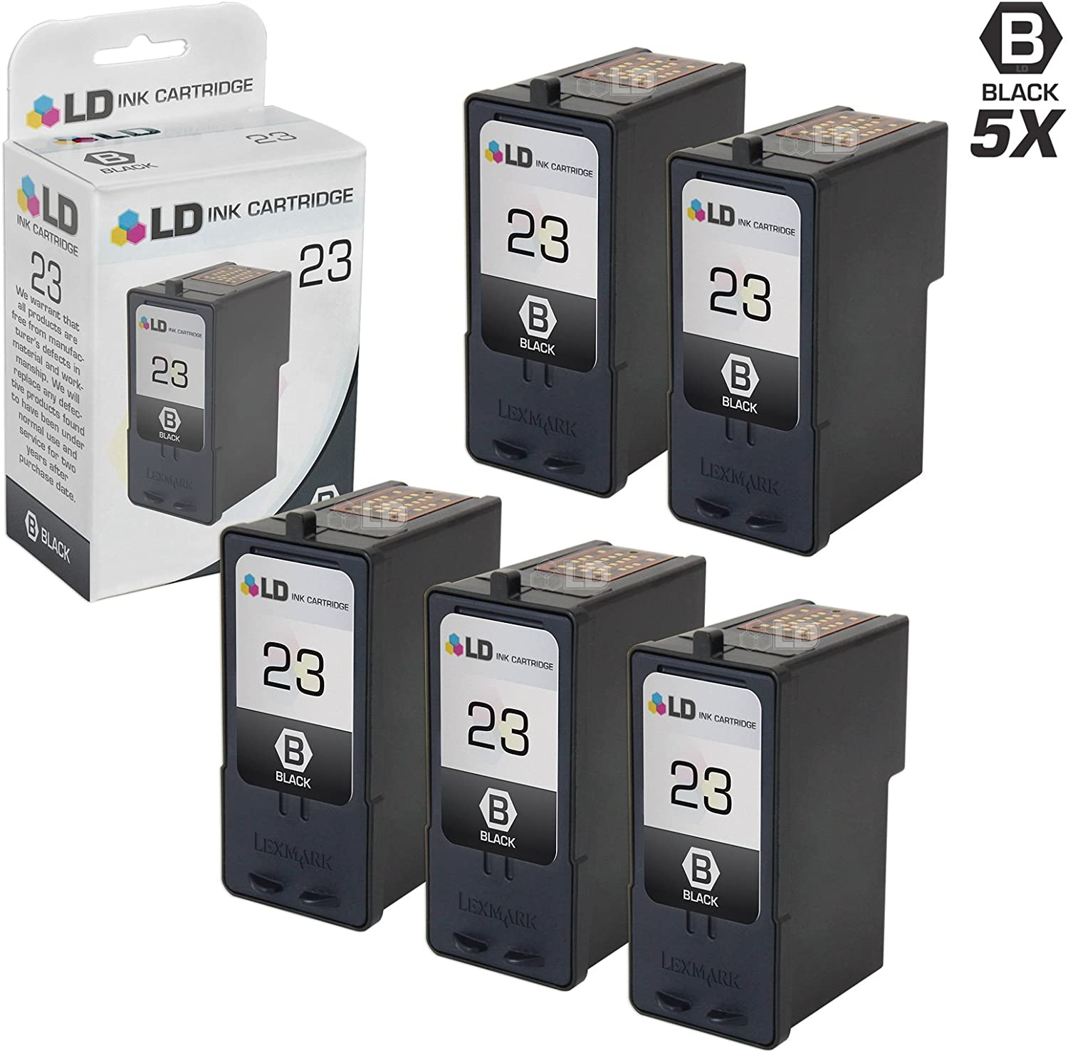 Color,1 Pack 18C2140 SuppliesOutlet Remanufactured Ink Cartridge Replacement for Lexmark 18C2180 18C2200 18C2160