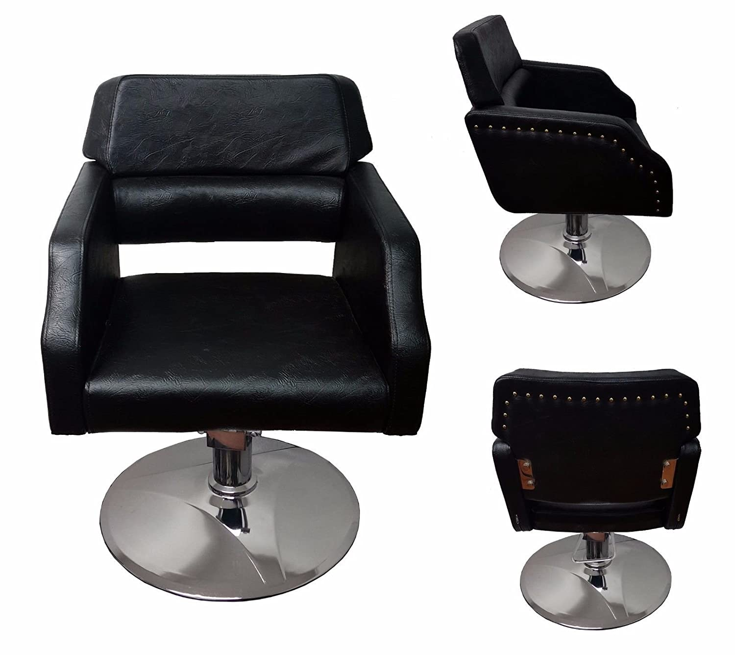 New Design SALON HAIRDRESSING EQUIPMENT FURNITURE BARBER CHAIR 2 colour (Black) Starex