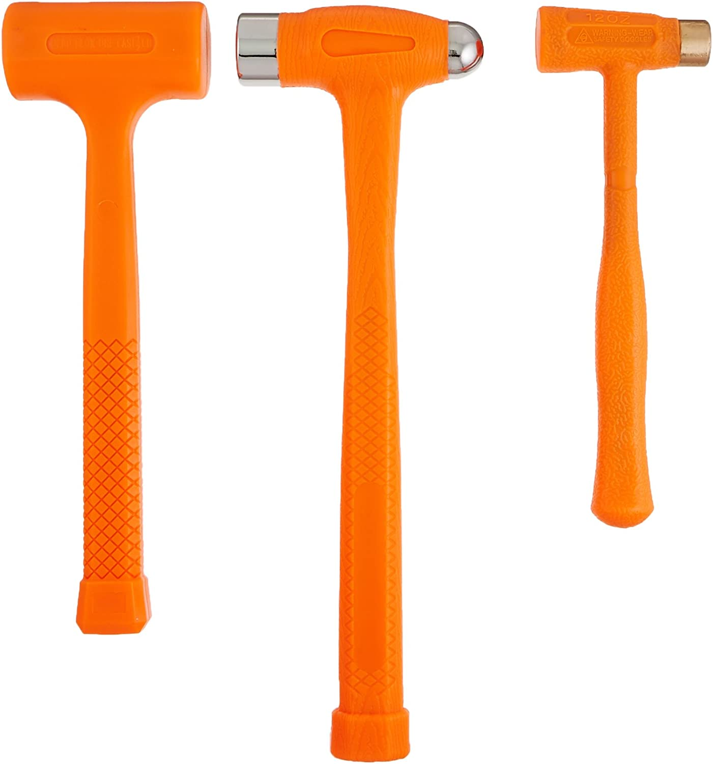 PROFESSIONAL DEAD BLOW HAMMER 4 PCS SET INCLUDED 8 OZ,16 OZ,24 OZ /& 32 OZ