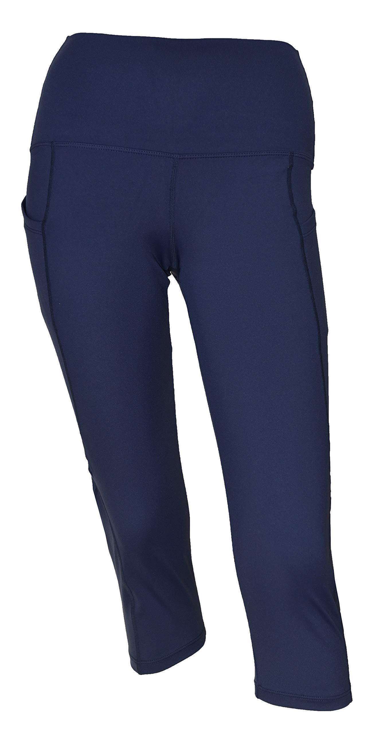 Private Island Women Swim Pockets Pants for UV Rashguard (XX-Large, Navy) by Private Island