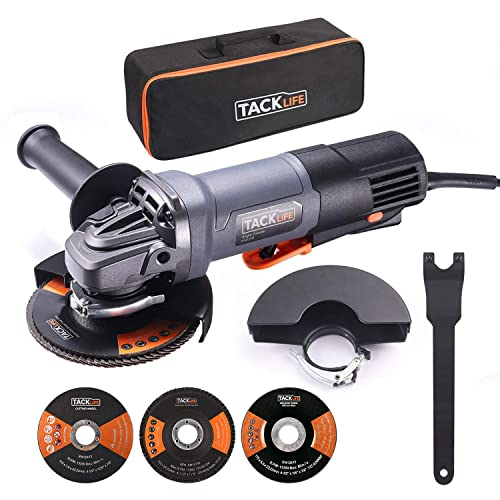 TACKLIFE Handheld Drywall Sander, Automatic Vacuum System LED Light, 12 Pcs Sanding Discs and a Carry Bag, 6.7A Electric Drywall Sander with Dust Collection System, 15ft Cable Variable Speed PDS03B
