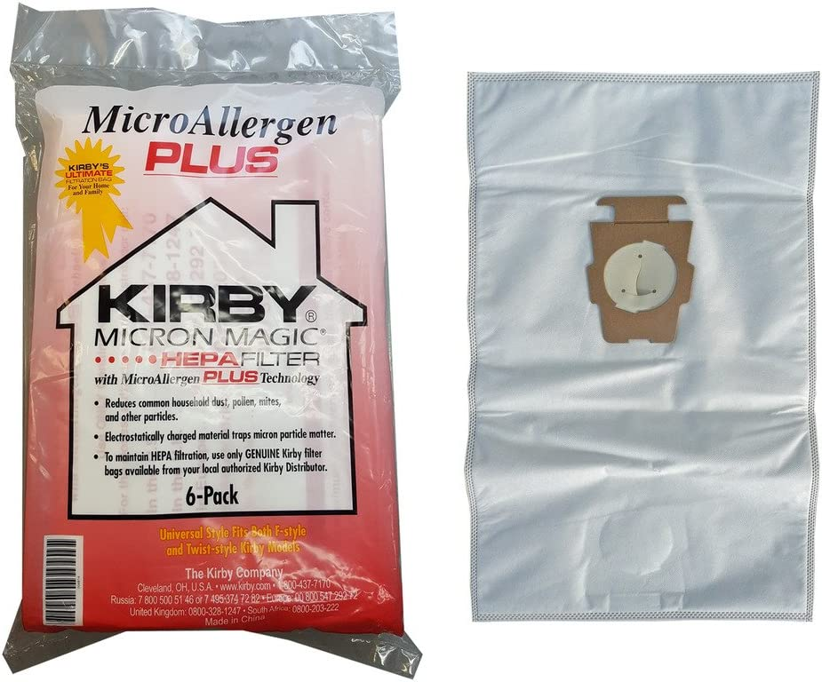 Kirby Micron Magic Micro Allergen Plus HEPA - Bolsas de filtro ...