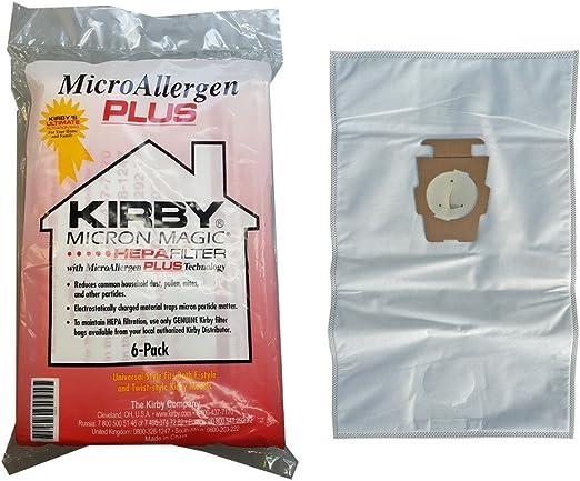 Kirby Micron Magic Micro Allergen Plus HEPA - Bolsas de filtro ...