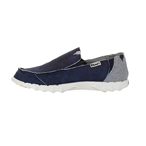 Dude Shoes - Mocasines de Lona para hombre Azul azul: Amazon.es: Zapatos y complementos