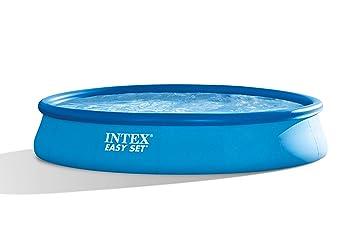 Intex Easy Set Pool Ohne Pumpe 457 X 84cm Amazonde Garten