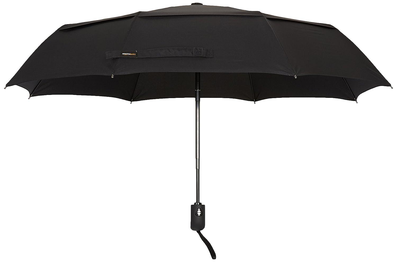 Bleu clair Basics Parapluie avec soufflet de d/écompression