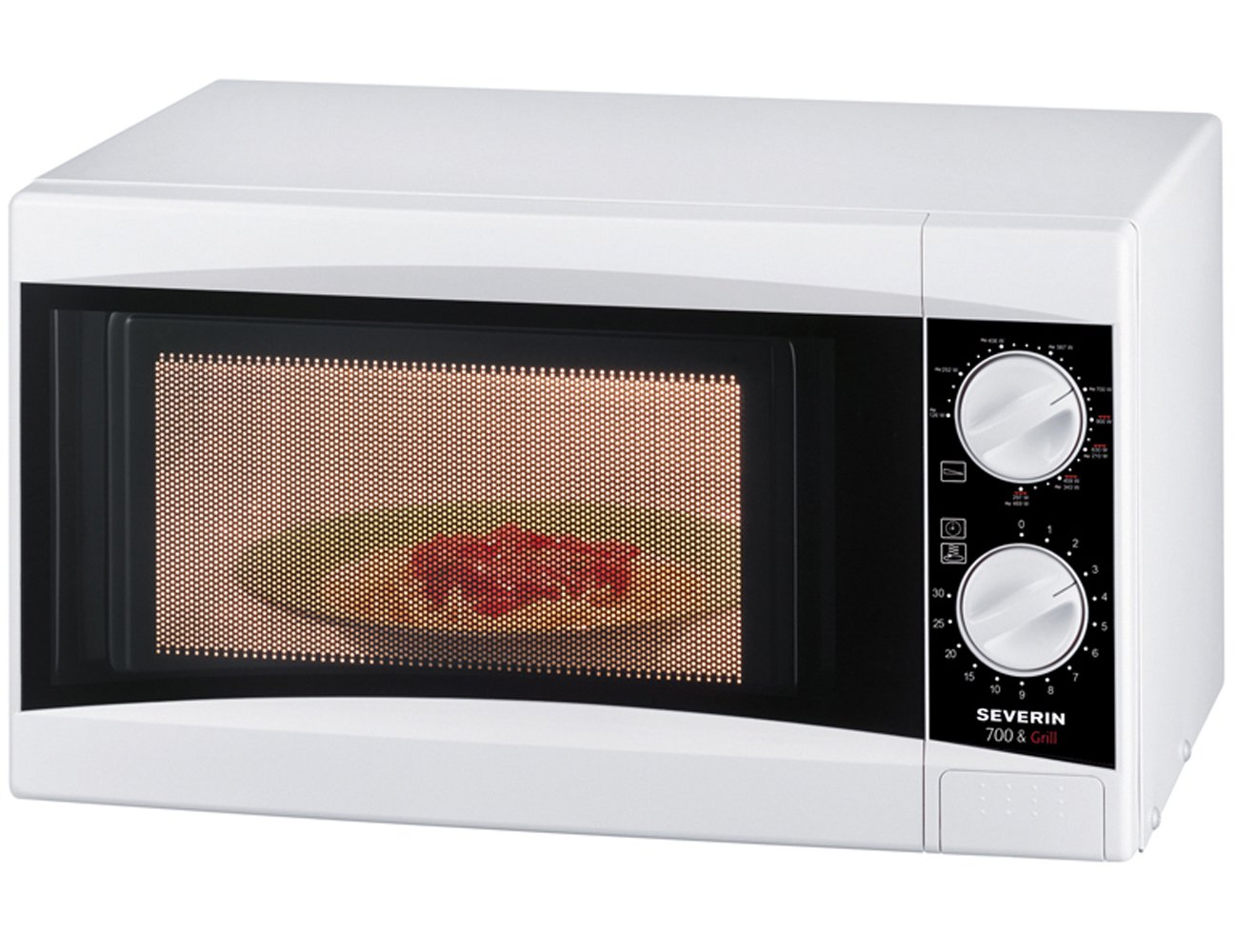 Severin MW 7810 Forno Microonde con Funzione Grill, 700 W