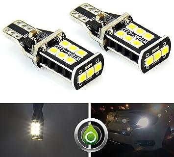 2x Error Free T10 921 PX Chipsets LED Bulbs For Backup Reverse High Power  Light