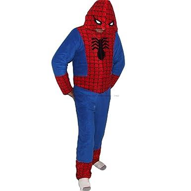 27002a741f Cedarwood State Primark Pyjamas combinaison en micropolaire pour homme  Spiderman - Medium 5 8-