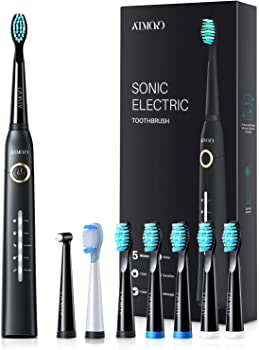 Atmoko Electric Toothbrush with 40,000 VPM Motor