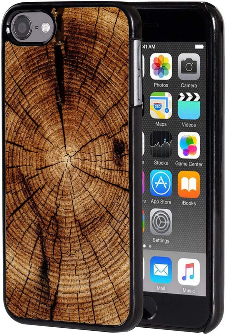 iPod Touch 6 case,Vobber Slim Anti-Scratch Architecture Hard Plastic Shockproof Protective Case Cover for iPod Touch 6th Generation,Wood Textures