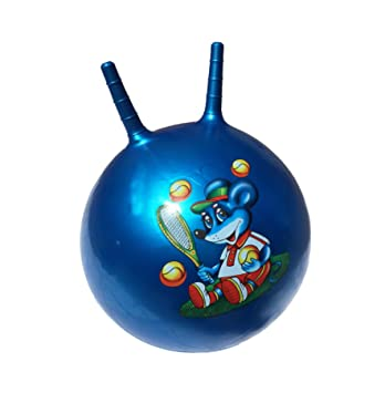 24 INCH LARGE JUMP N BOUNCE SPACE HOPPER RETRO BALL ADULT//KID OUTDOOR TOY NEW