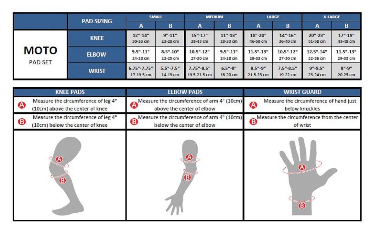K2 Moto Men's 2012 Wrist Guard, Medium