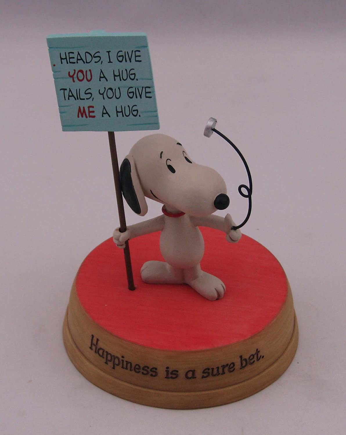 Hallmark Peanuts Happiness is a Sure Bet Snoopy Figurine