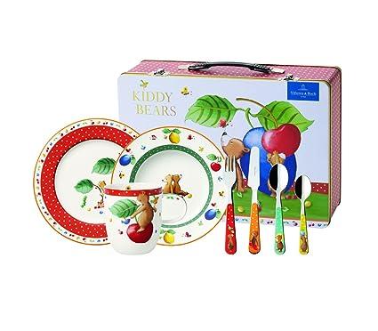 Villeroy & Boch Set de cubertería Infantil, Porcelana Fina, centimeters