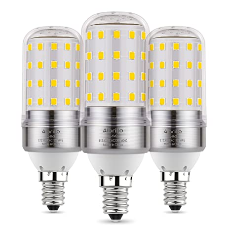 Albrillo E12 LED Bulb, Candelabra LED Bulbs 100 Watt Equivalent ...
