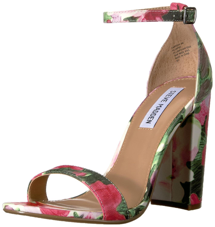 2019新作モデル Steve Madden Womens Carrson Open Toe Steve Special 9 Occasion Suede US Ankle Strap Sandals B01M7X5PCR 9 B(M) US|フローラルマルチ フローラルマルチ 9 B(M) US, 神戸グラス:d7376561 --- martinemoeykens.com