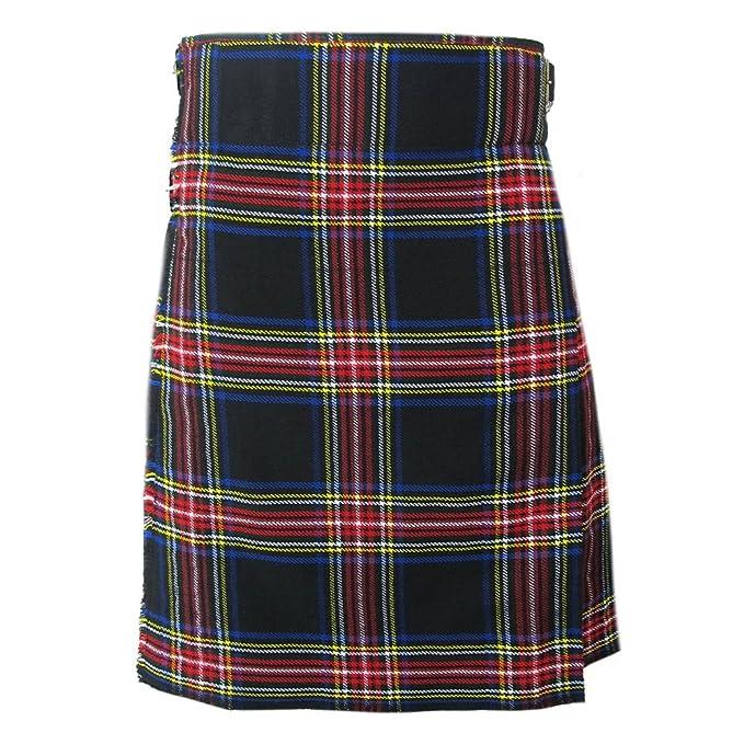 Tartanista Falda escocesa de caballero Enorme variedad 4,6m/284g a ...