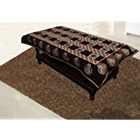 Kuber Industries™ Center Table Cover Maroon Cloth Net 40 * 60 Inches (C01)