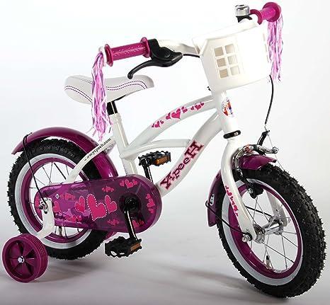 Bicicleta para niña de 12 pulgadas 3 4 años con ruedas ...