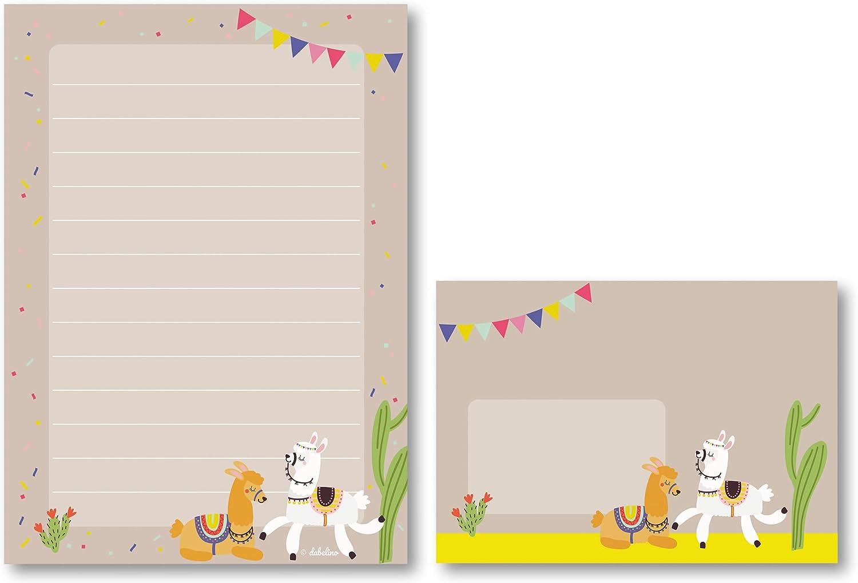 magisches Einhorn Motivpapier Briefpapier 100 Blatt DIN A4 Mädchen Pony Pferde