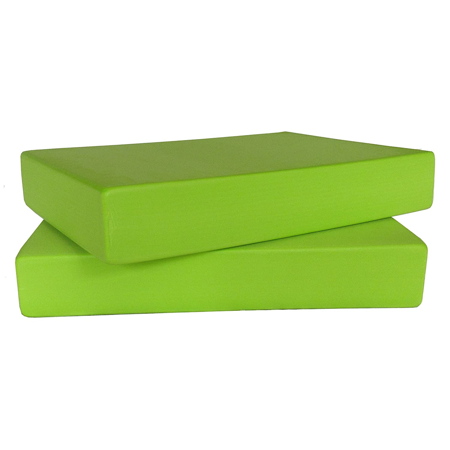 10 x Green EVA Foam FULL Yoga Blocks (WHOLESALE BOX) Ruth White Yoga Products Ltd