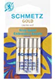 Schmetz Stick- Nadel Gold 130/705 H- ET