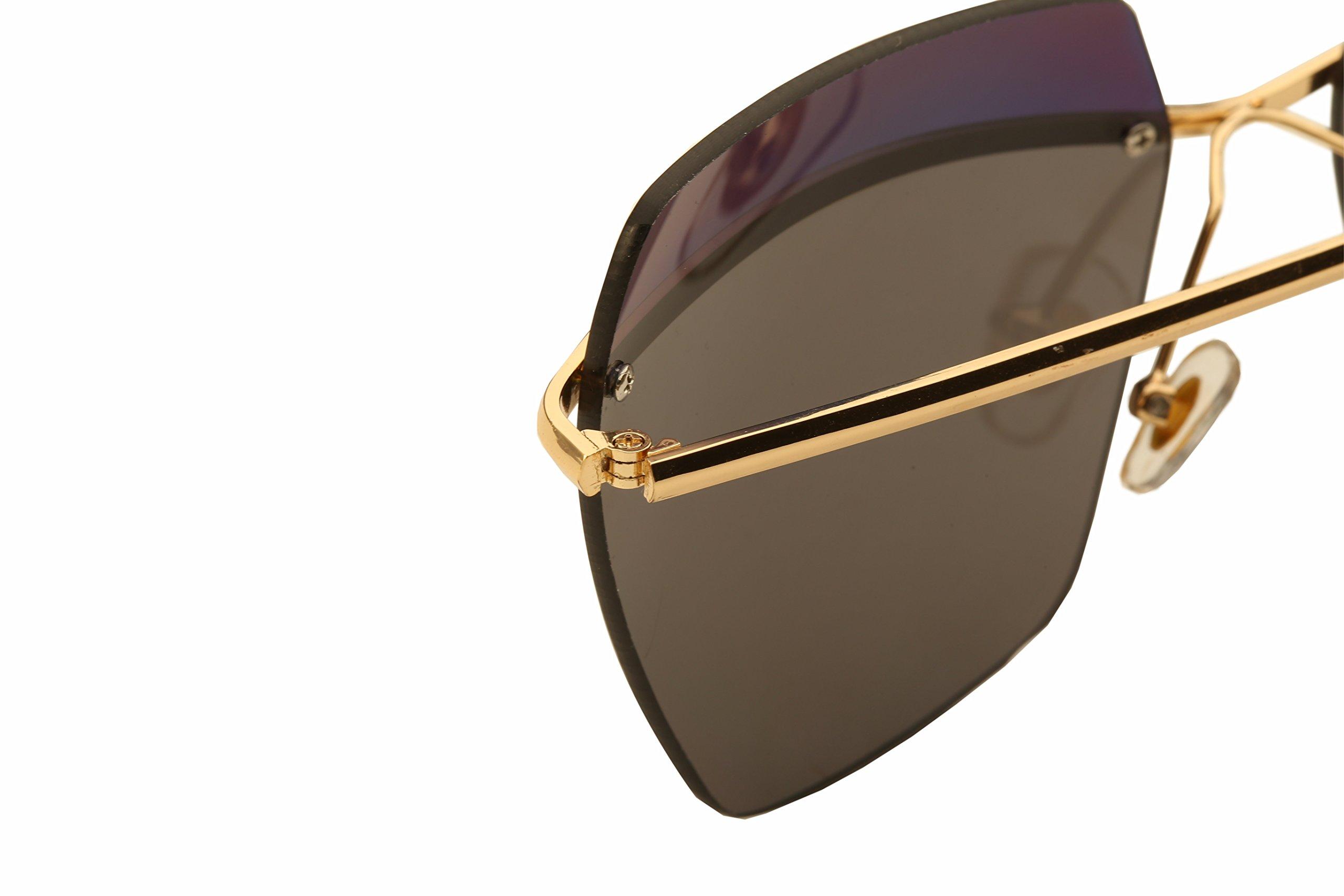 Diamond Candy Women\'s Fashion Sunglasses UV Protection Sexy Eyewear UV400 Goggles 3Gold