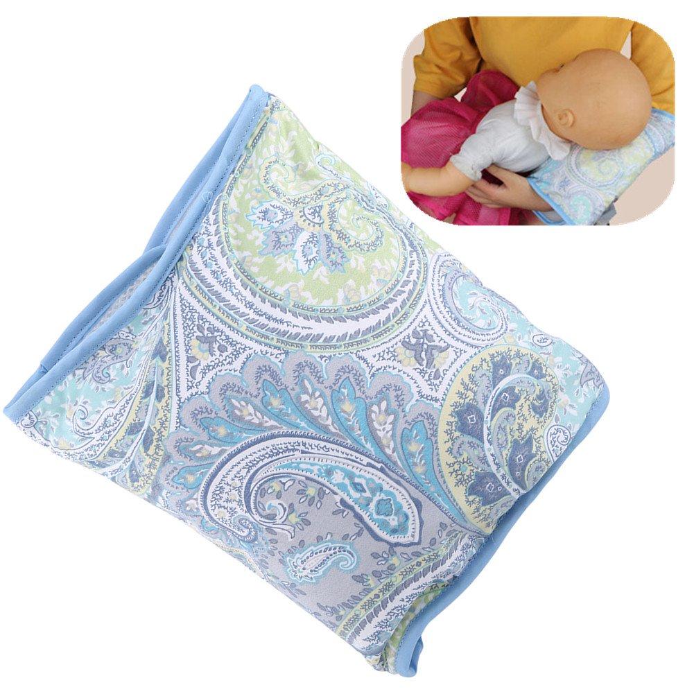 Fdit Almohada de Enfermer/ía de Brazo 5 Patrones Almohada de Enfermer/ía de Algod/ón Lavable Suave Almohada de Lactancia Materna Almohada Multi Uso #1