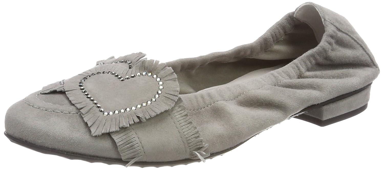 Kennel und Schmenger Damen Malu Geschlossene Ballerinas, Grau (Stone)