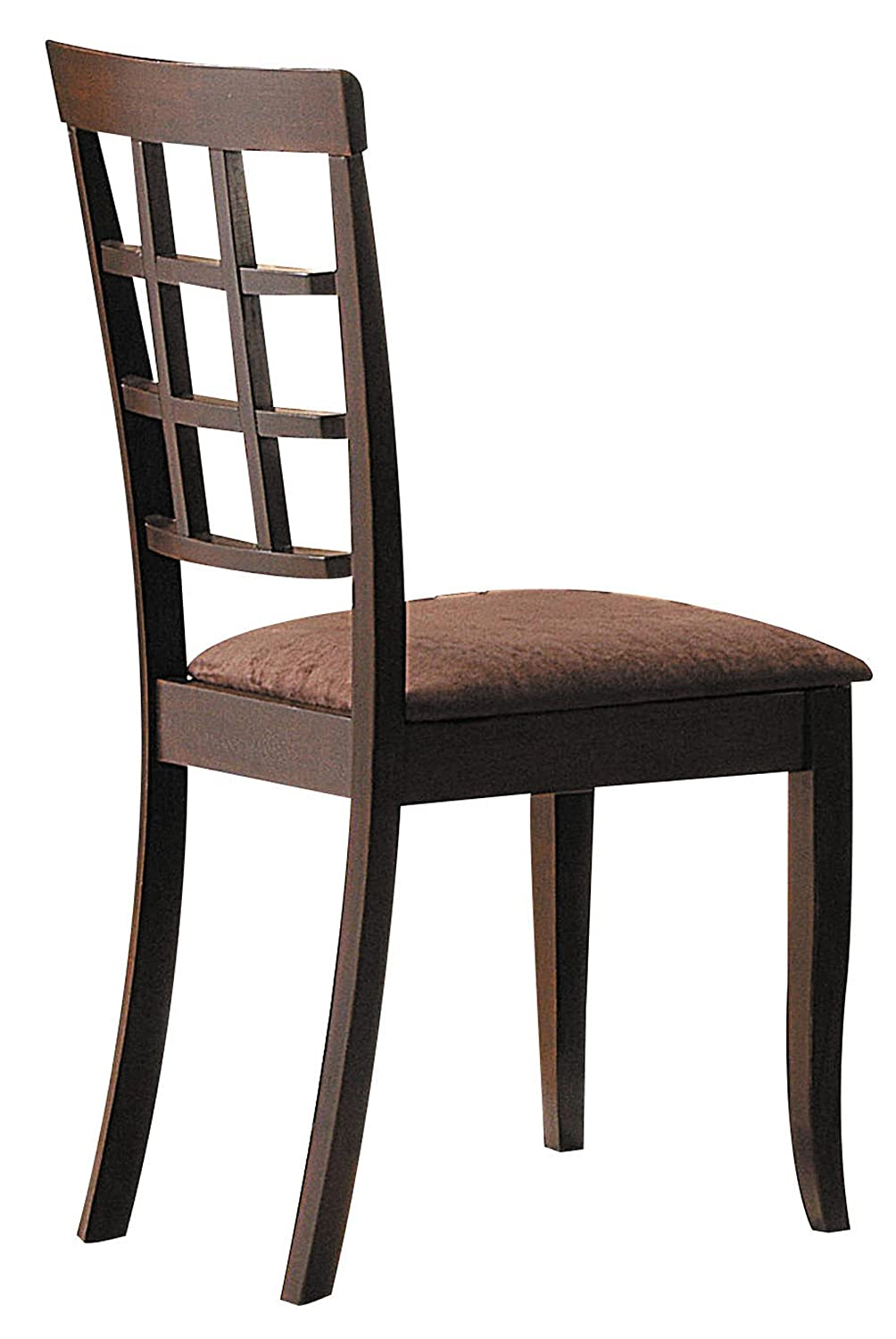 ACME 06851 Set of 2 Cardiff Side Chair Espresso Finish