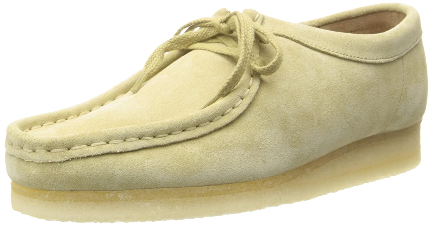 CLARKS Women's Wallabee Boot B00HZFR6AU 6.5 B(M) US|Maple Suede