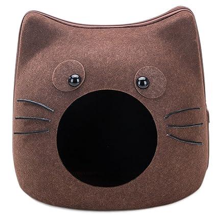 Fieltro Gato Saco De Dormir Gato Saco De Gato Gato Suministros Cuatro Estaciones Universal Gato Casa
