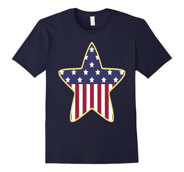Patriotic Star - Classic  Fit T Tee Shirt.-Art