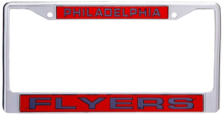 NHL Laser Chrome Plate Frame Rico Industries FCL7601