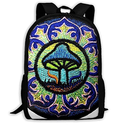 90d9c37d7f1c Amazon.com: Mandala Magic Mushroom Goa Psychedelic Travel Hiking ...