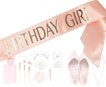 Amazon.com: Cinta de cumpleaños para niñas #glamist – La ...