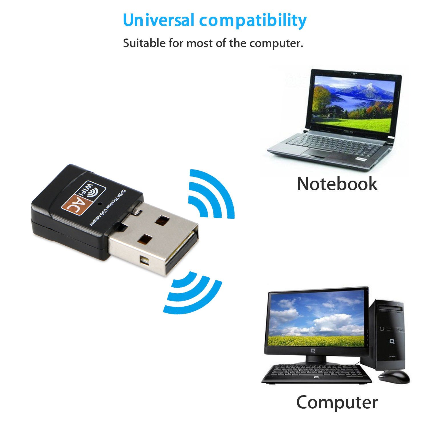 Mira Screen WiFi HD TV Dongle Miracast DLNA Airplay HDMI 1080P Receiver.USB WiFi dongle 150Mbps Dual Band 2.4G / 5G Wireless